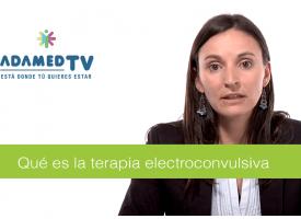 ¿Qué es la terapia electroconvulsiva?