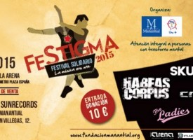"""""""Festigma"""", concierto solidario contra el estigma en la enfermedad mental"""