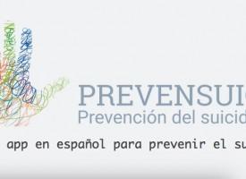 Prevensuic, la app en español para la prevención del suicidio