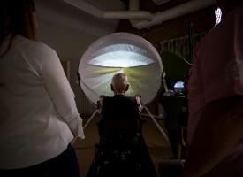 Google Street View y una bici estática como terapia para pacientes con demencia