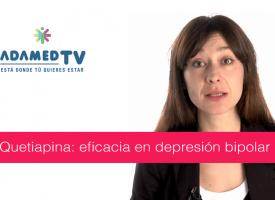 Quetiapina: eficacia en depresión bipolar