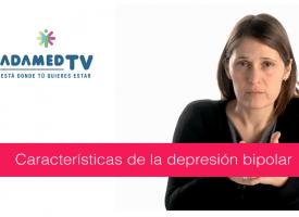 Características en la depresión bipolar