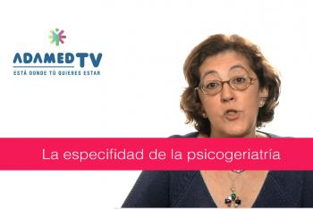 Qué es la psicogeriatría - María Dolores Franco Fernández