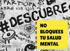 """""""#Descubre. No bloquees tu salud mental"""", programa para llevar la salud mental a colegios e institutos"""