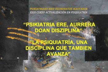cartel XXIII CURSO ACTUALIZACIÓN EN PSIQUIATRÍA