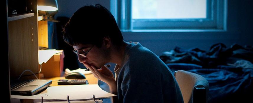 Los trastornos de ansiedad crecen en la época de exámenes