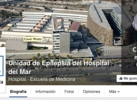El Hospital del Mar de Barcelona asesora sobre epilepsia a través de Facebook