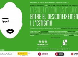 Acto en Barcelona sobre cómo informan de la salud mental en los medios de comunicación