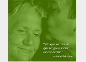 El valor del cuidador, lema de este año en el Día Mundial del Alzheimer