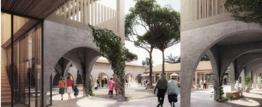 Francia está diseñando un pueblo para personas con Alzheimer